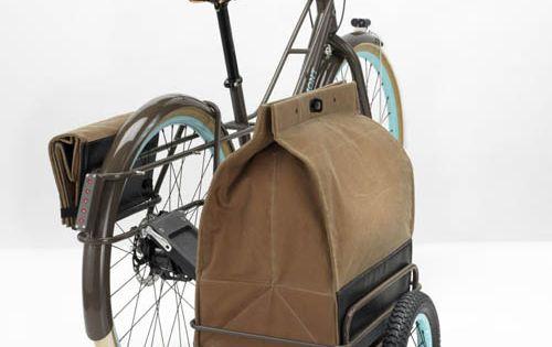 Bicycle Third Wheel Bag Car!