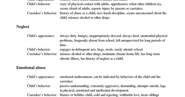 Think, that Physical signs of emotional abuse in adults commit