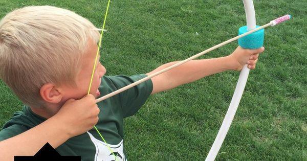 Diy the ultimate pvc bow and arrow arrow for Kids pvc bow