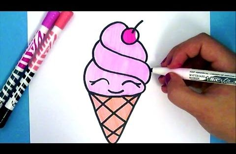 Comment dessiner une cerise kawaii dessin super facile youtube dessins pinterest - Dessins a dessiner facile ...