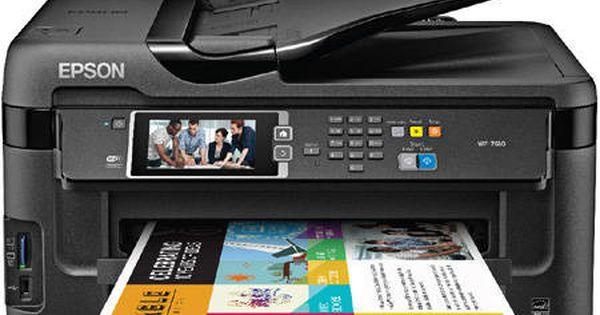 Epson Workforce Wf 7610 Color Inkjet Printer C11cc98201 New Staples Inkjet Printer Photo Printer Epson