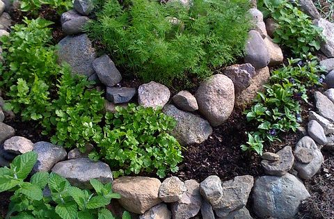 Herb spiral for the garden design ideas modern garden design garden interior