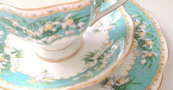 Vintage English Queen Anne Fine Bone China Tea Cup And