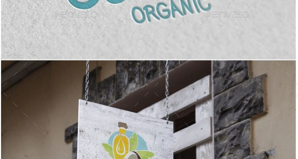 Coconut Oil Logo – Food Logo Templates – organic and healthy