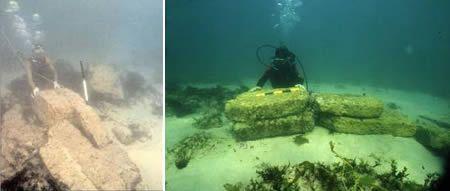7 Most Fascinating Underwater Ruins Underwater Cities Cleopatra Palace Underwater City Underwater Ruins Marine Archaeology