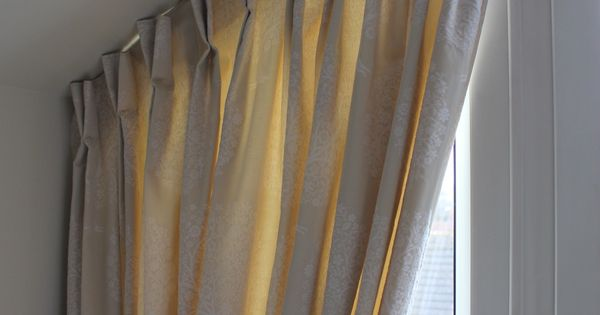 Bedroom Curtains A Customers Sloping Windowdouble