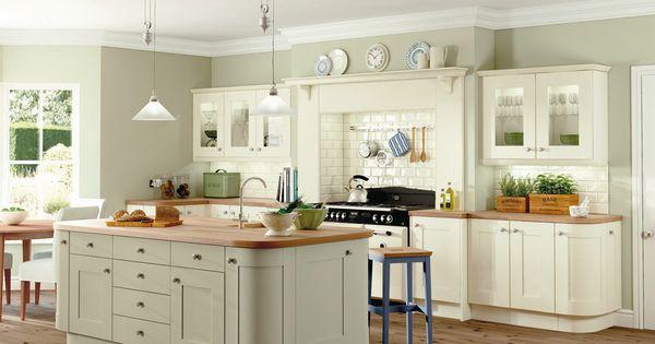 Symph Rockford Ivory And Sage Kitchen Kitchens