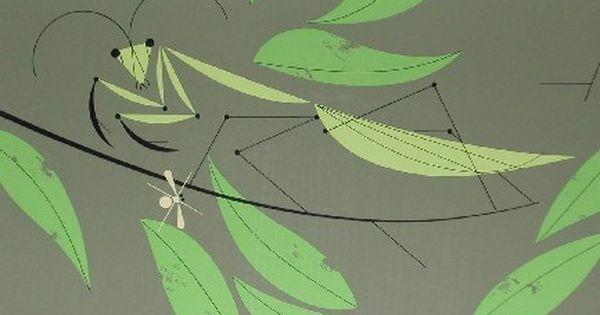 Praying Mantis (w/yellow bug) - Ford Times Silkscreen ...