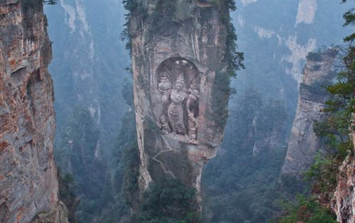 Buddha at Ngyen Khag Taktsang Monastery - I'd like to see it,