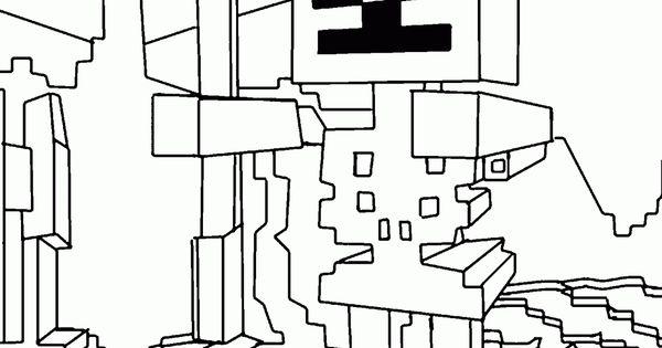 Minecraft Para Colorear Steve