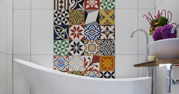 marokkanische deko 4 bathroom pinterest keramik bodenfliesen fliesen und keramiken. Black Bedroom Furniture Sets. Home Design Ideas