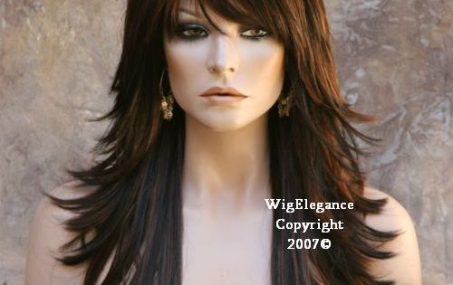 I know this is a wig, but I love the bangs!