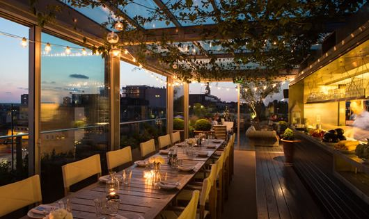 Enjoy A Drink Above It All At The Boundary Rooftop In
