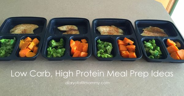 low carb high protein meal ideas weekly plans terrific prep ahead tips via diary of a fit. Black Bedroom Furniture Sets. Home Design Ideas