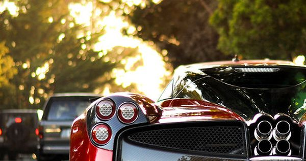 Pagani, carbon fiber chasis and frame, plus an over enginered AMG power