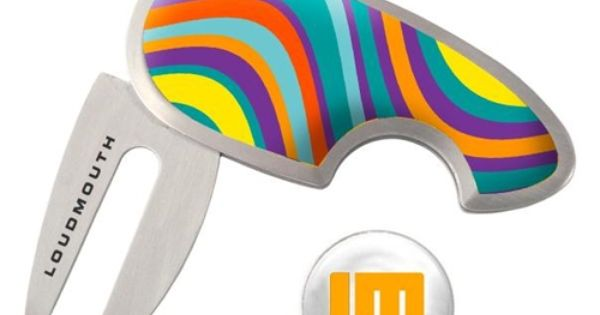 Golf Ball Markers & Repair Tools by Loudmouth Golf ...