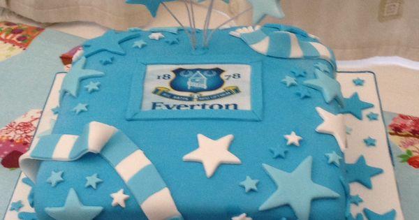 ... cake  Reposteria  Pinterest  Cake ideas, Everton and Birthday cakes