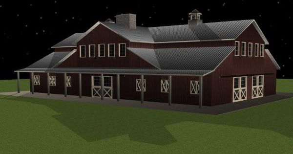 Event barn party barn wedding barn design exteriors for Party barn plans