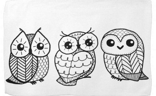 Snowy Owl Drawings Owl Coloring Pages Adult Coloring Pages