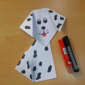 Dalmatian Dog Craft Dog Crafts Puppy Crafts Paper Crafts Origami