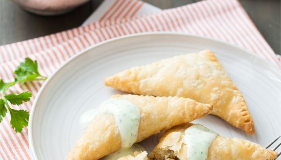Vegetarian Lentil and Sweet Potato Empanadas | Love and Olive Oil