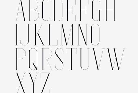 #typography vintage font
