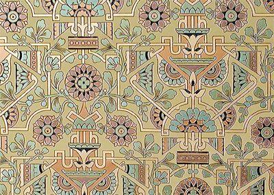 Green Victorian Style Wallpapers Centennial Wall Fill Bradbury Bradbury Geometric Floral Wallpaper Victorian Wallpaper Art Wallpaper