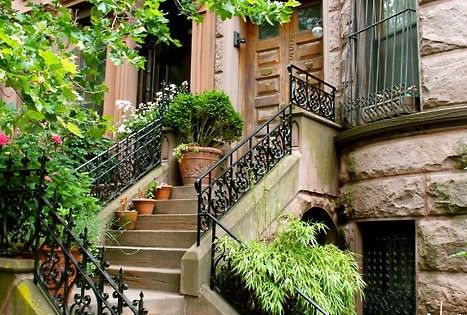 NYC brownstone. I know I wouldn't really like to live in New