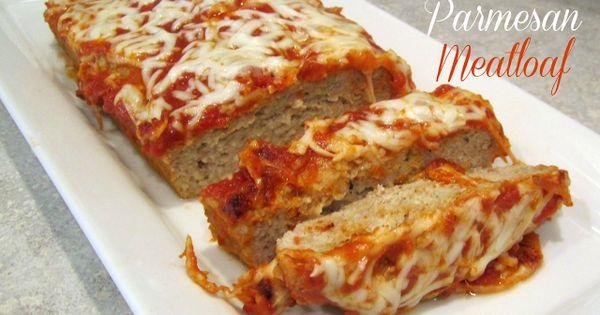 Chicken parmesan meatloaf, Parmesan meatloaf and Parmesan on Pinterest