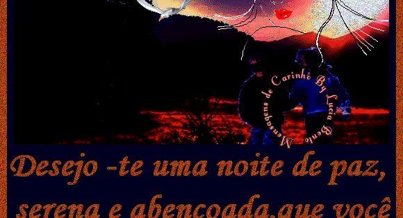 Desejo-te Uma Noite De Paz, Serena E Abençoada, Que Você