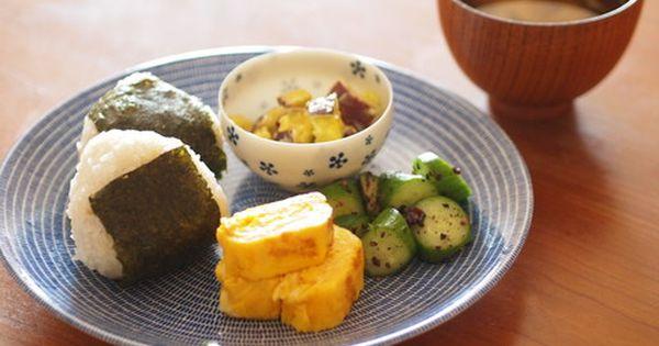 アラビア社avecプレートでおにぎりワンプレートランチ ワンプレートランチ 美味しいご飯 料理 レシピ