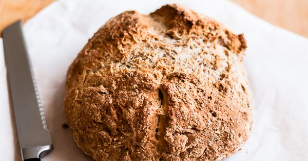 Honey Whole Wheat Irish Soda Bread Recipe Irish Soda Bread Soda Bread Irish Soda