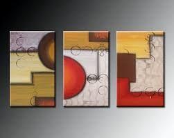 Resultado De Imagen Para Pinturas Abstractas Faciles Cuadro Abstractos Tripticos Cuadros Abstracto