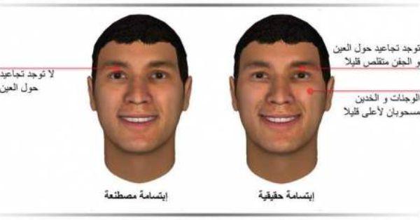 الفرق بين الإبتسامة الحقيقية و المصطنعة مدونة أسرار الوجه Face Reading Body Language Reading