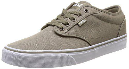 Vans Men's Atwood (Canvas) Brindle/White Skate Shoe 10.5 Men US ...