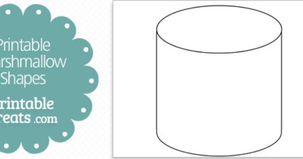 free-printable-marshmallow-shape-template | Sunday School ...