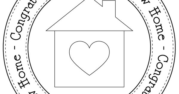 New home circle digi and her site is full of svg files for Home designs com