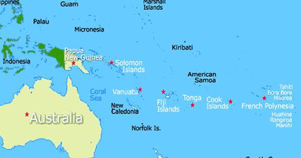 Location Of Fiji Islands Fiji Islands Map Fiji Map