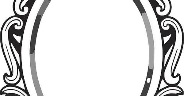 Line Drawing Mirror Frame Clipart Panda Free Clipart
