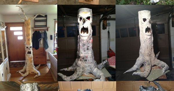 Scary haunted tree prop bwahahahahahaaaaa spooky old for Haunted tree prop