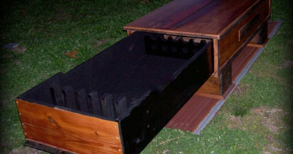 Barn Wood Coffee Table / Hidden Gun Cabinet : Lodging / Lodging Furniture u0026 Cabinetry ...