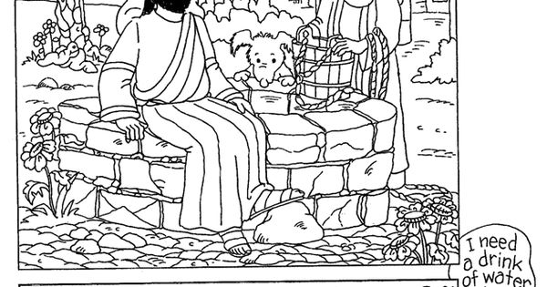 bible summer coloring pages - photo#24