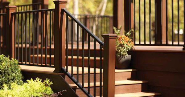 Best The Right Steps On Building Deck Stair Railing With Metal 400 x 300