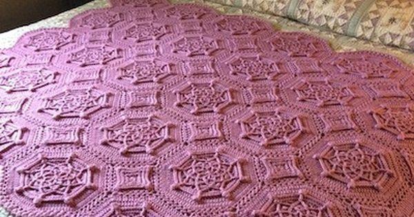 Bordeaux Matelasse Afghan pattern by Priscilla Hewitt ...