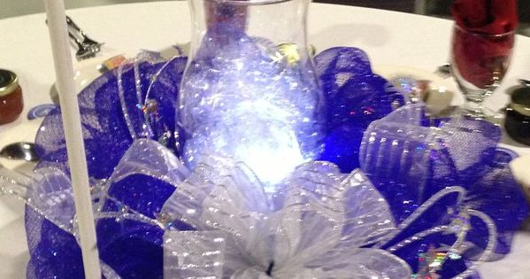 Deco mesh ideas for wedding