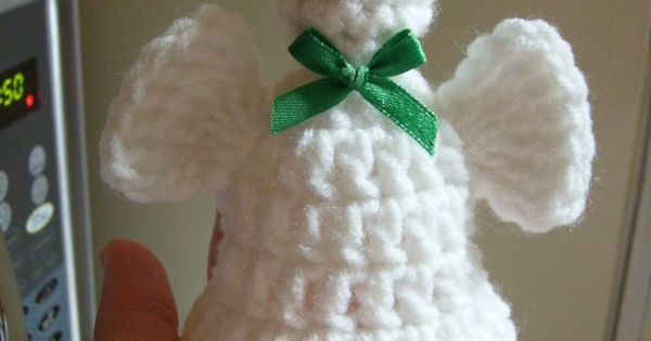 Free Angel Bell Crochet Pattern Knit.Crochet - Christmas ...