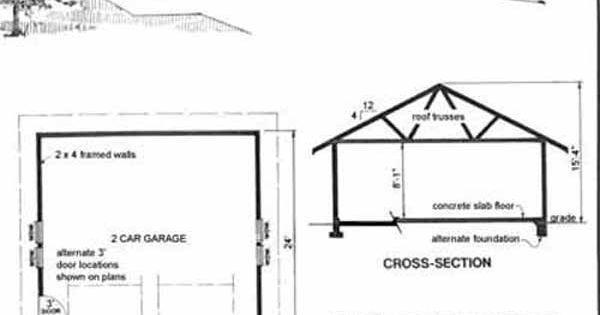 Craftsman Style 2 Car Garage Plan 578 1 By Behm Design Add