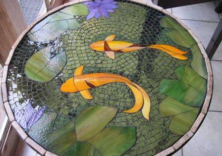 In My Studio The Art Of Deborah Mattson Mosaics Garden