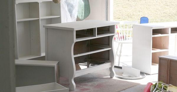 Spraying painting bedroom furniture wardrobe bookcase table desk diy pinterest for Spray paint bedroom furniture