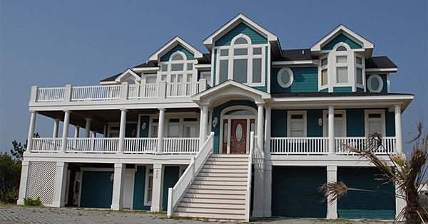Twiddy Outer Banks Vacation Home Black Pearl Corolla Semi Oceanfront 10 Bedrooms